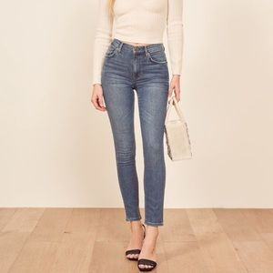 Reformation skinny jeans
